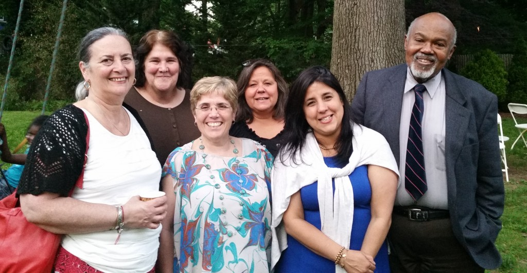 Some of the Leadership and Staff at an 'r kids event. (Left to Right) Randi Rubin Rodriguez, Lori Rubin Welch, Judi Primavera, Cindy Fernandes, Enna Garcia, Dr. Robert Windom