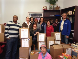 BL Companies, an Architecture and Engineering firm headquartered in Meriden, CT delivered 41 boxes of complete Thanksgiving dinners and $1,450 of gift cards for 'r kids families for the second year in a row.  Thank you to the generous employees at BL.